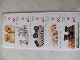 Duostamp Belgique Belgie Les Chiens De Honden ** ( Petit Logo De La Poste ) - Belgique