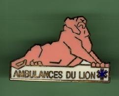 AMBULANCES DU LION *** Signe DIMO *** 1019 - Médical