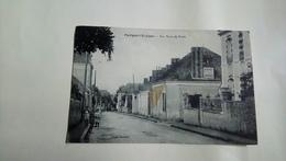 Parigné L'évêque Rue Haute De Brette Sarthe 1908 - Autres Communes