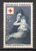 1954--Croix-Rouge  N° 1006 .-- Maternité --NEUF--gomme Intacte--cote  14.50€  .........à  Saisir - France