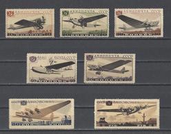 RUSSIE.  YT PA  N° 60/66  Neuf */**  1937 - 1923-1991 URSS