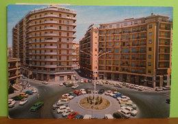 SIRACUSA Piazza Della Repubblica Animata Auto Cars Insegne Pubblicità Alitalia Olivetti Negozi Cartolina 1974 - Siracusa
