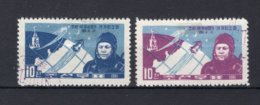 KOREA-NOORD  Yt. 306/307° Gestempeld 1961 - Corée Du Nord