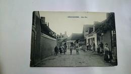 Chahaignes Une Rue Boulanger Rabeau  Sarthe 1913 - Autres Communes