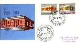 1969 - LUSSEMBURGO - EUROPA - BUSTA FDC. - FDC