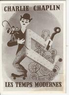 Charlie Chaplin Les Temps Modernes - Artistes