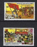 "Congo YT 381 & 382 "" Pouvoir Populaire "" 1975 Neuf** - Congo - Brazzaville"