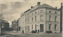 CHIMAY : Rue De La Gare - CPA PEU COURANTE - Cachet De La Poste 1927 - Edit. Léonard Colson, Buffet Gare, Chimay - Chimay