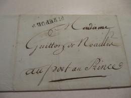 MARQUE POSTALE  LETTRE  BORDEAUX  Vers  PORT Au PRINCE 1811 - 1801-1848: Precursors XIX