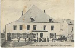 CHIMAY : Hotel Belle-Vue - CPA PEU COURANTE - Cachet De La Poste 1912 - Chimay