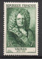 1955-- Personnages Célèbres--VAUBAN    N° 1029 .--NEUF--gomme Intacte--cote  22 €  .........à  Saisir - France