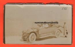 Auto Fiat Modello 30 Hp ? Cars A Santa Margherita Ligure 1911 Hold Photo Melanina - Automobiles