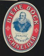 """étiquette Bière  Bock Schneider Qualité Supèreiuere """" Henri4"""" - Beer"""