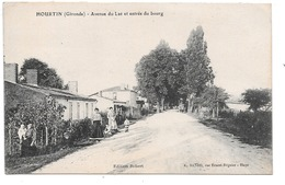 Hourtin . - Avenue Du Lac Et Entrée Du Bourg. - Autres Communes