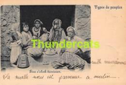 CPA 1899 TYPES DE PEUPLES FIVE O CLOCK TUNISIEN TUNESIE - Tunisie
