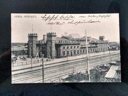 ORCHA (Орша), 1910, Railway Station, Sent To Gimel (Switzerland) - Belarus