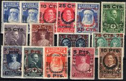 España Nº 373/87. Año 1927 - Unused Stamps