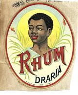 Etiquette Rhum Draria - Rhum