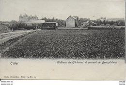TILLET ..-- TRAM .  Nels 74 , N° 13 . Le Château De GERIMONT . - Sainte-Ode
