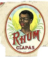 Etiquette Rhum Clapas - Rhum