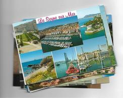 Lot De Plus De 300 Cartes Postal Divers - Postales