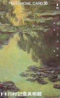 Télécarte JAPON  * PEINTURE FRANCE * CLAUDE MONET * ART * TK Gemälde (2033) Phonecard Japan * KUNST * SCHILDERIJ - Pintura