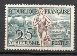 1953-- Jeux Olympiques D' HELSINKI-- Athlétisme  N° 961 .--NEUF--gomme Intacte--cote  16 €  .........à  Saisir - France