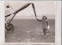 FATHERS RACING MACHINE  WENDY SHIPWRIGHT  25*20 CM Fonds Victor FORBIN 1864-1947 - Aviación
