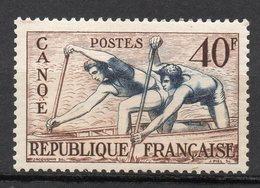 1953-- Jeux Olympiques D' HELSINKI--  Canoé  N° 963 .--NEUF--gomme Intacte--cote  14 €  .........à  Saisir - France