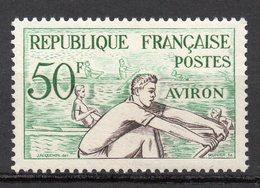 1953-- Jeux Olympiques D' HELSINKI--  Aviron  N° 965 .--NEUF--gomme Intacte--cote  10 €  .........à  Saisir - France