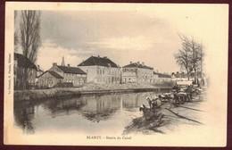 Blanzy Bassin Du Canal Lavandières  Laveuse  * Saône Et Loire 71450 * Blanzy  Arrondissement  D' Autun * Lavandière - Autres Communes
