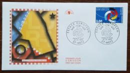 FDC 1997 - YT N°3112 - ESPACE EUROPEEN SAR LOR LUX - METZ - 1990-1999