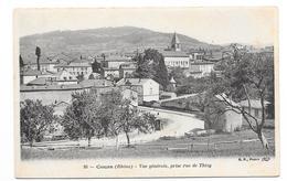 COURS Vue Générale Prise Rue De Thizy - Cours-la-Ville