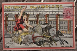 CPA - G VERELST Antique Olympiade - Anvers 1920 - Jeux Olympiques