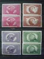 ROMANIA 1945 ITU In PAIRS MNH** COT.224 EUR Yv. Nr 882/885 - 1918-1948 Ferdinand I., Charles II & Michel