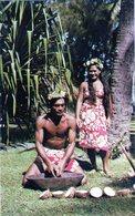 "Cpsm De Tahiti - "" Râpe Des Cocos"" - - Tahiti"