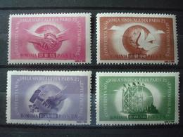 ROMANIA 1945 ITU MNH** COT.112 EUR Yv. Nr 882/885 - 1918-1948 Ferdinand I., Charles II & Michel