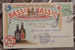 CPA - Bass & C° - Extra Stout - 253 - Fournisseur De S.M Le Roi D'Angleterre - Publicité
