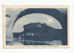 Cp , 24 ,  MAREUIL Près CAZOULES ,  Clair De Lune ,  Voyagée 1924 - Sonstige Gemeinden