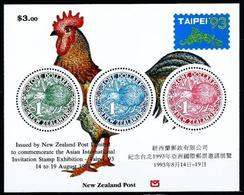 Nueva Zelanda Nº HB-89 Nuevo - Hojas Bloque
