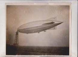 R 100 ZEPPELIN BRITISH  AIRSHIP HOWDEN CARDINGTON BEDFORDSHIRE  25*20 CM Fonds Victor FORBIN 1864-1947 - Aviación