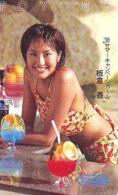 Télécarte Japon * EROTIQUE *  (6348)  * EROTIC PHONECARD JAPAN * TK * BATHCLOTHES * FEMME SEXY LADY LINGERIE - Moda