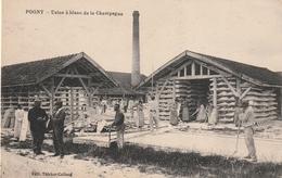 51 Pogny. Usine à Blanc De La Champagne - France