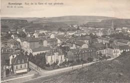 Rumelange , Rue De La Gare  Et  Vue Générale - Cartes Postales