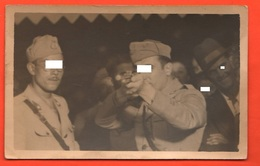 Soldiers Years '40 Tiro A Segno Shooting Galerie De Tir Tournage Luna Park Flobert Fotolampo - Sport