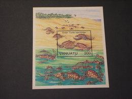 VANUATO - BF 1992 TARTARUGHE - NUOVO(++) - Vanuatu (1980-...)