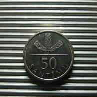 Latvia 50 Santimu 2007 - Lettland