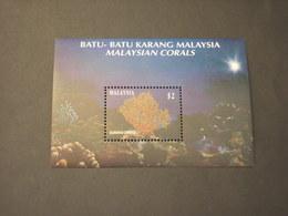 MALAYSIA - BF 1992 CORALLI - NUOVO(++) - Malesia (1964-...)