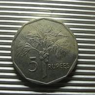 Seychelles 5 Rupees 2007 - Seychellen