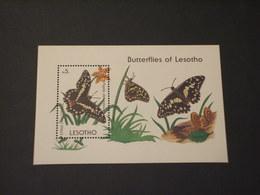 LESOTHO - BF 1990 FARFALLA - NUOVO(++) - Lesotho (1966-...)